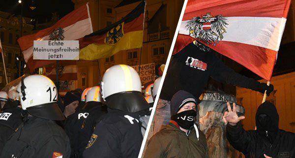 Die erste Wiener Pegida-Demo hat ein Nachspiel