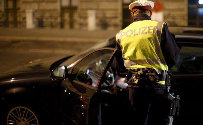In Wien beendete die Polizei die Verfolgungsjagd.