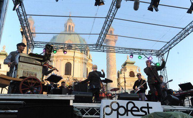 Popfest 2015 am Wiener Karlsplatz: Erste Namen sind bestätigt