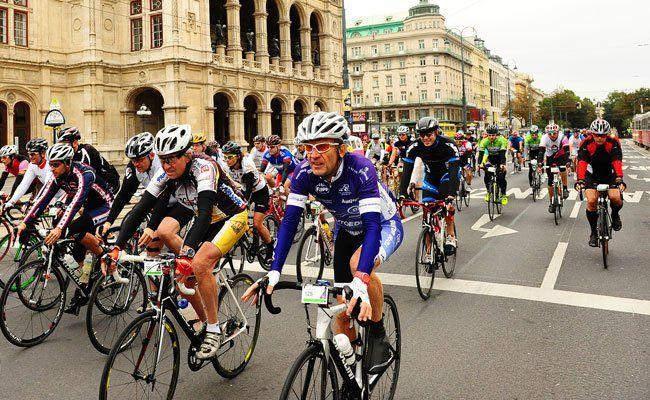 Am 3. Mai 2015 findet der italienische Radmarathon in Wien statt.