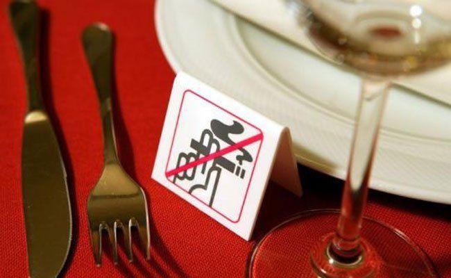 Ab Mai 2018 gilt in der Gastronomie ein generelles Rauchverbot.