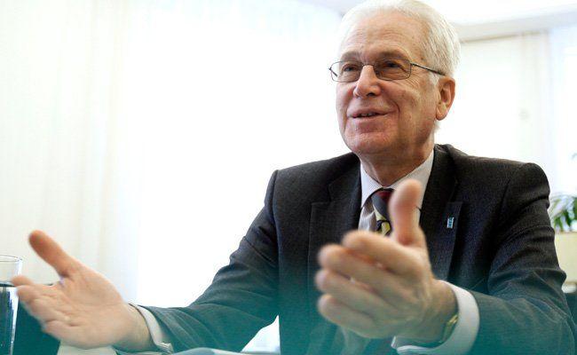 Langzeit-Amtsinhaber Wolfgang Schütz bewarb sich nicht mehr als Rektor