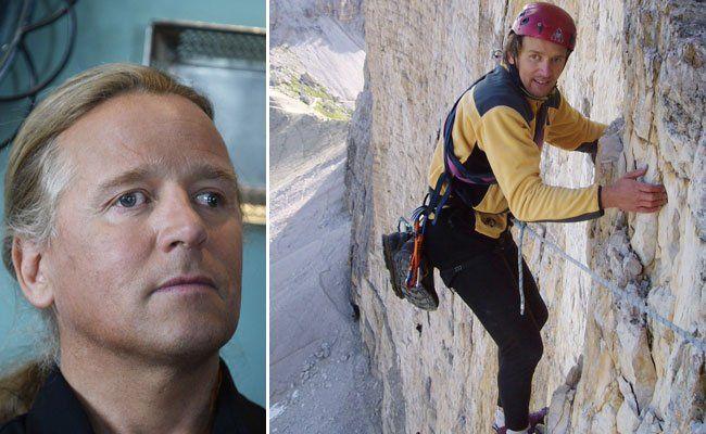 Der blinde österreichische Extrembergsteiger Andy Holzer