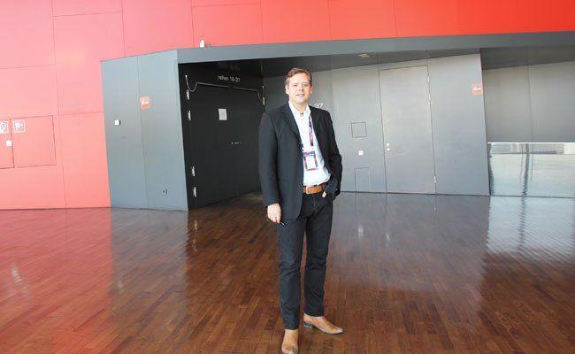 Markus Pubek ist Leiter des Veranstaltungsmanagements der Wiener Stadthalle.