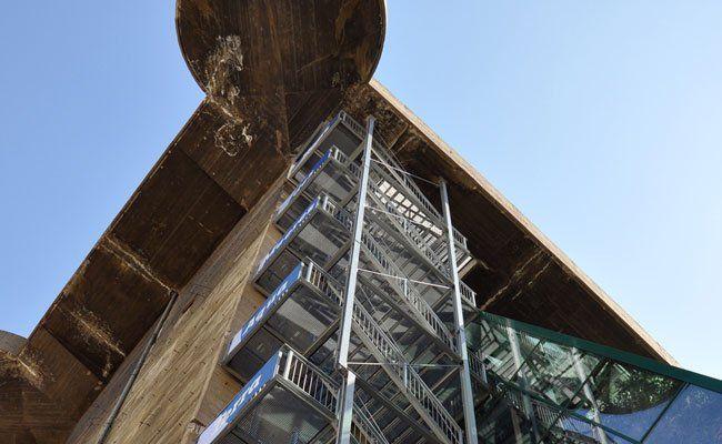 263 Stufen gilt es beim Stiegenlauf zu bewältigen.
