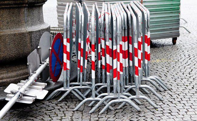 Die Hütteldorfer Straße, aber auch der Ring, sind von den Sperren betroffen.