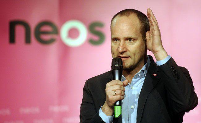 Der NEOS-Parteichef weiß, dass es im Burgenland nicht einfach für seine Partei wird.