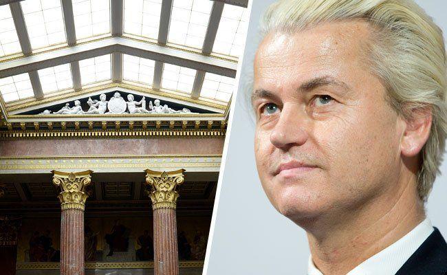 Die Grünen kritisieren das Vorgehen beim Wien-Besuch von Wilders.