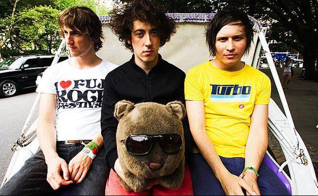 The Wombats live in der Arena Wien.