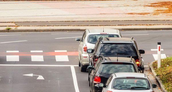 Auf einer Kreuzung in Simmering kam es zu einem Verkehrsunfall.