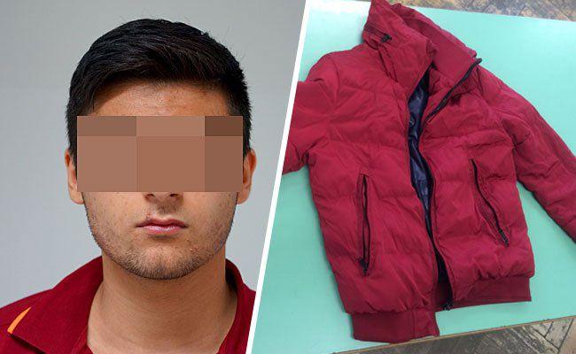 Dieser 15-Jährige soll sexuelle Übergriffe begangen haben, wobei er eine auffällige rote Jacke trug