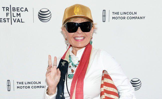 Schauspielerin Roseanne Barr kommt zum Life Ball nach Wien.