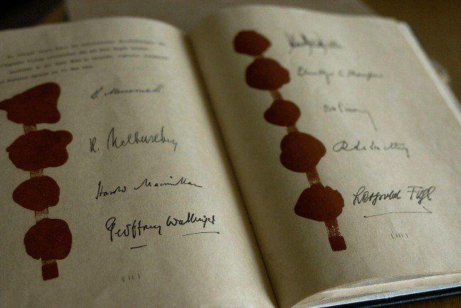 Am 15. Mai feiert der Österreichische Staatvertrag 60-jähriges Jubiläum.
