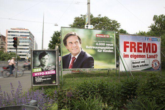 VIENNA.at berichtet heute LIVE von der Steiermark-Wahl 2015.