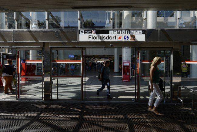 Am Bahnhof Floridsdorf wurde ein Pensionist überfallen und niedergeschlagen.