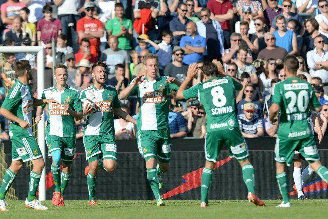 Die Stimmen zum Spiel SCR Altach gegen SK Rapid Wien.