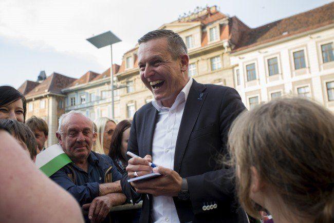 FPÖ-Spitzenkandidat Mario Kunasek will bei steirischer Landtagswahl überzeugen.