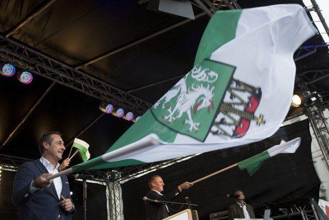 H.C. Strache sieht den Erfolg bei den Landtagswahlen als Vorspiel für die Wien-Wahl.