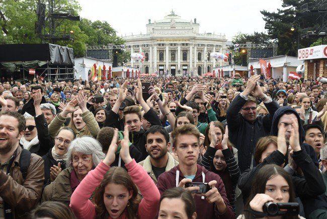 """60. Song Contest - Stadt Wien freut sich über """"riesigen Erfolg"""""""