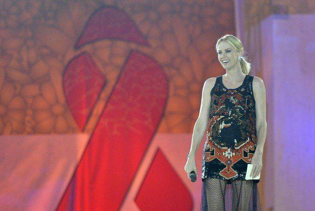 Charlize Theron gab ihr Life Ball- Debüt