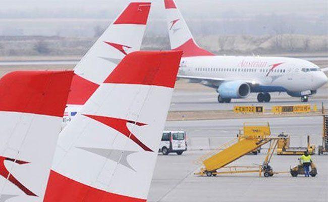 Bereits einige AUA-Flüge sind heuer ausgefallen.