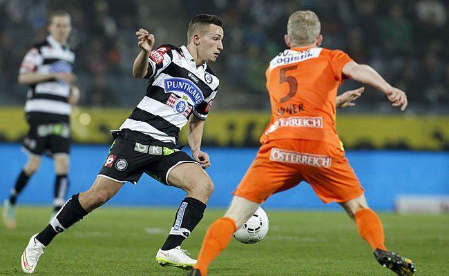 Sturm Graz hofft gegen Admira auf Ende von siegloser Serie