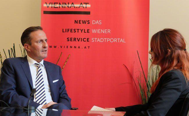 Manfred Juraczka im Gespräch zur Wien-Wahl 2015.