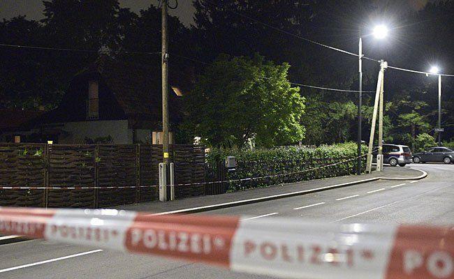 Am Tatort in Donaustadt
