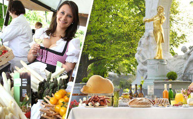 Beim Genuss-Festival im Stadtpark warten auch heuer wieder Köstlichkeiten aus ganz Österreich