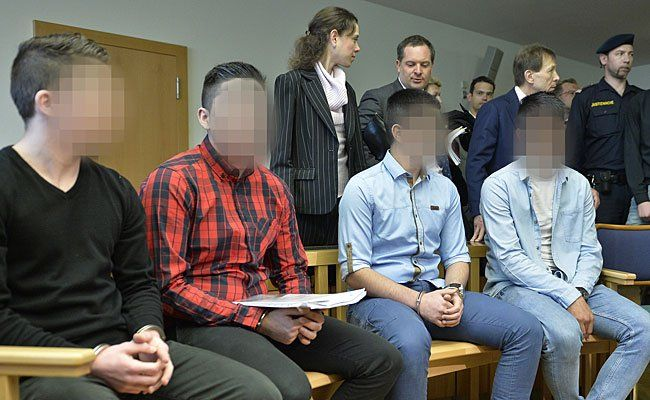"""Beim Prozess gegen Teile der sogenannten """"Goldenberg""""-Bande am Straflandesgericht Wien"""
