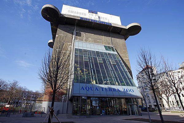 Um einen Euro von der Stadt - Außenlifte ins Cafe als nächstes Großvorhaben