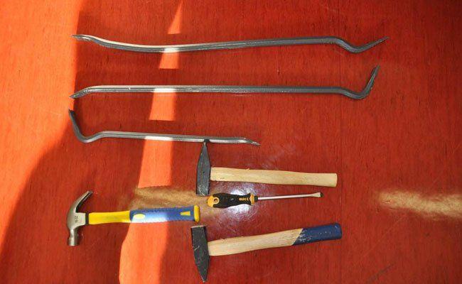 Dieses Werkzeug verwendeten die Täter.