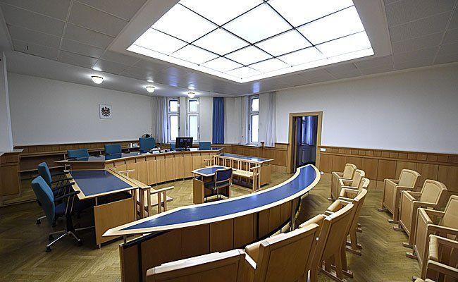 Der mutmaßliche Bankräuber stand vor dem Wiener Straflandesgericht