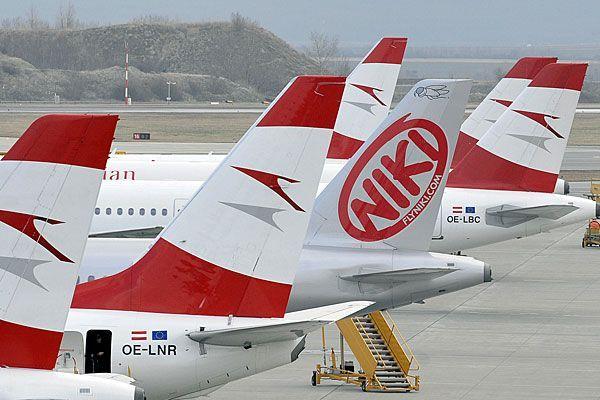 Ein Niki-Airbus konnte nicht planmäßig von Athen nach Wien fliegen