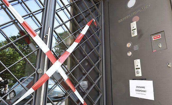 In das Palais Epstein, ein Nebengebäude des Parlaments an der Wiener Ringstraße, wurde eingebrochen