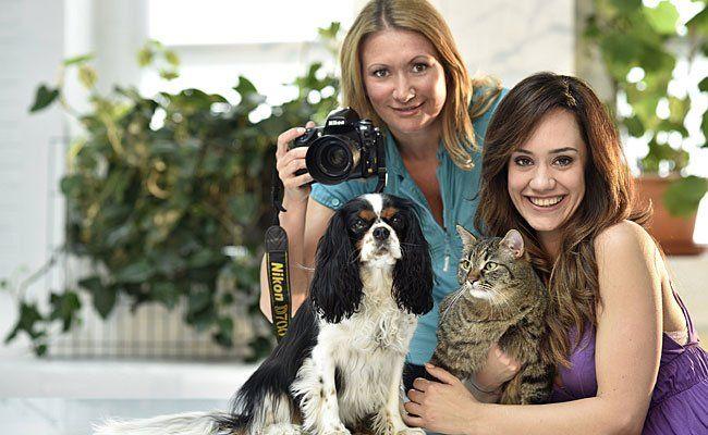 Sasa Schwarzjirg zeigte sich begeistert über das Fotografentalent von Angelika Niedetzky
