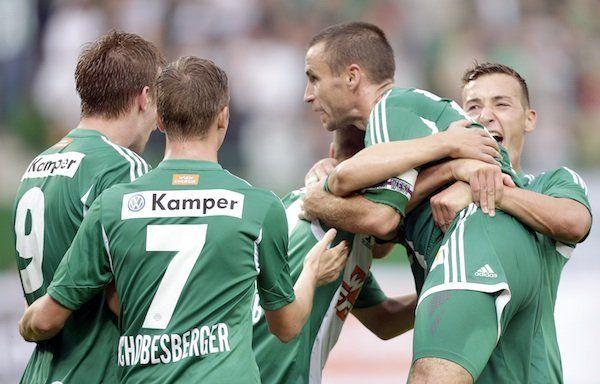 Fußball: Grödig möchte Heimserie gegen Rapid prolongieren