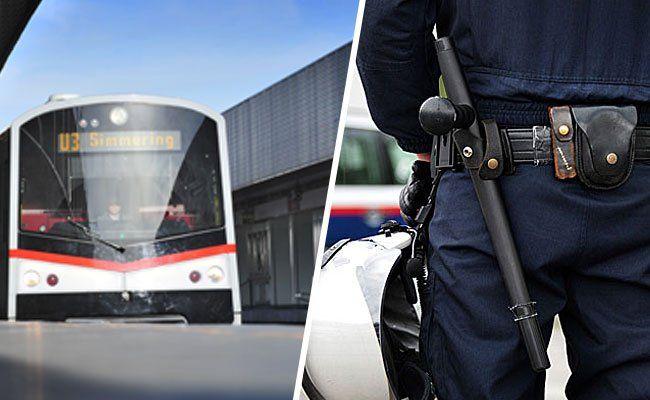 Ein Streit begann in der U3 und endete mit einem Polizei-Einsatz