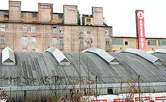 Noch mehr Kultur am Geländer der ehemaligen Anker Brotfabrik.