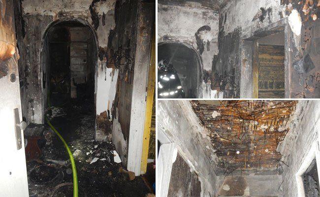 Zimmer im 3. Bezirk fing Feuer