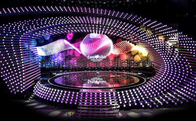 Auf dieser Bühne findet heuer der Song Contest statt.