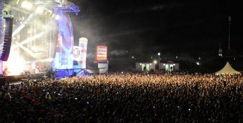 So bunt ist das Donauinselfest