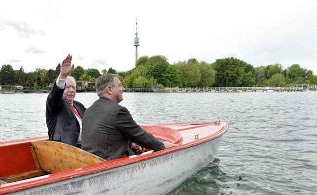 Schiff ahoi! Die Saison auf der Alten Donau ist offiziell eröffnet.