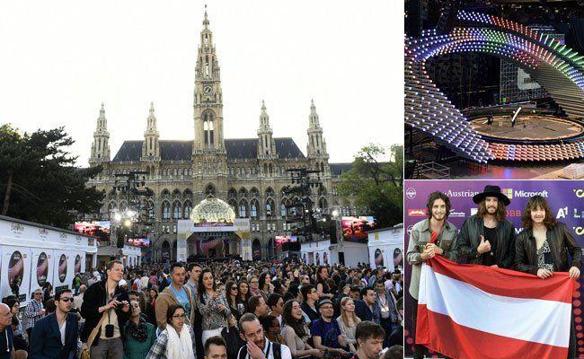 Für Österreich treten The Makemakes beim Song Contest an.