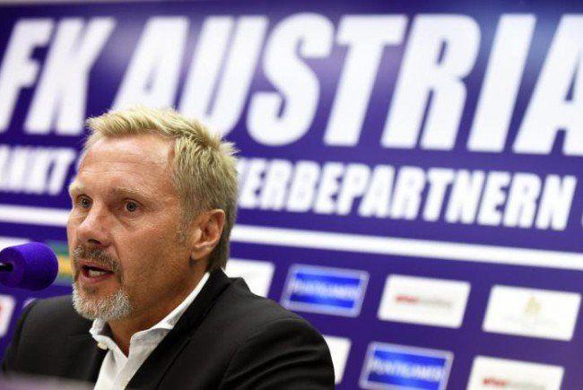 Thorsten Fink will die Austria auf Vordermann bringen.