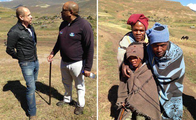 In diesem Jahr wird im Rahmen des Life Balls ein Programm unterstützt, damit Hirtenbuben aus dem Hochland von Lesotho abends eine Schule besuchen können.