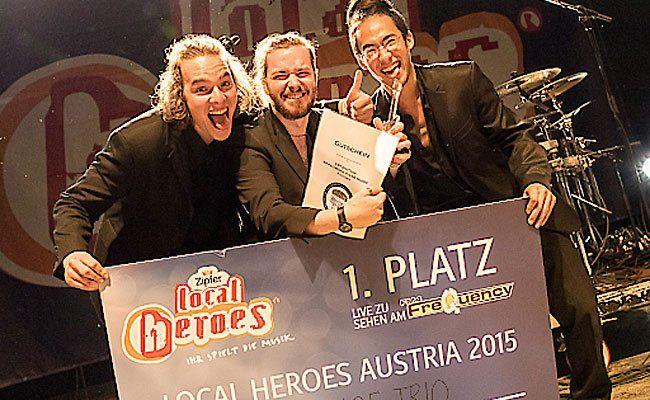 Banana Joe Trio sind die Sieger bei Local Heroes.