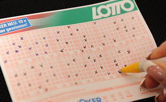 Lotto: 3,4 Mio. Euro liegen am Sonntag im Pot.