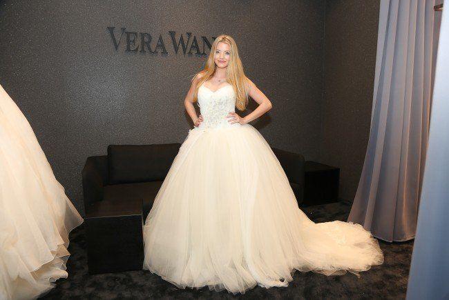 Vera Wang-Hochzeitskleider gibt es nun auch in Wien zu kaufen.