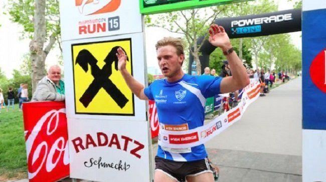 Max Bergström gewinnt den 11. Millennium City Run.